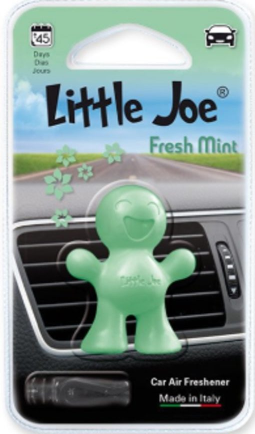 2x Little Joe | Auto luchtverfrisser voor in de airco | Groen | Fresh Mint