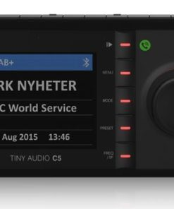 Tiny Audio C5 DAB+ Carkit adapter met bluetooth