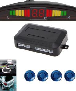 Universele Parkeersensoren LED Ultrasonic Blauw