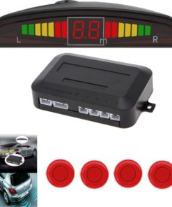 Universele Parkeersensoren LED Ultrasonic Rood
